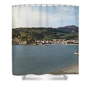 Collioure  Shower Curtain