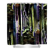Collonade Park Shower Curtain