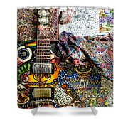 Collorfull Music Shower Curtain
