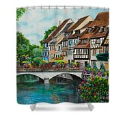 Colmar In Full Bloom Shower Curtain