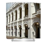 Colombia Courtyard Shower Curtain