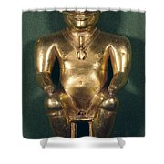 Colombia: Gold Figure Shower Curtain