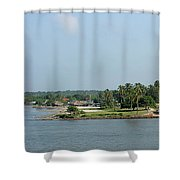 Colombian Fortress Shower Curtain