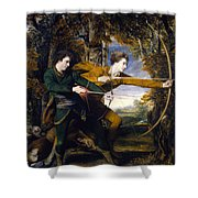 Colonel Acland And Lord Sidney Archers Shower Curtain