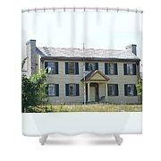 Colonel Davenport House Shower Curtain