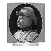 Colonel Roosevelt Shower Curtain