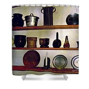 Colonial Cook's Cupboard Shower Curtain