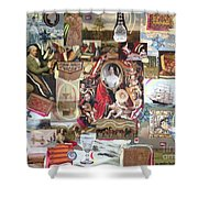 Colonial Heritage - Panel 2 Shower Curtain