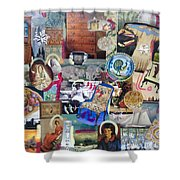 Colonial Heritage - Panel 4 Shower Curtain