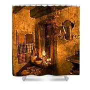 Colonial Kitchen Evening Shower Curtain