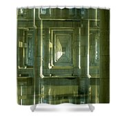 Colonnade Park Seattle Shower Curtain
