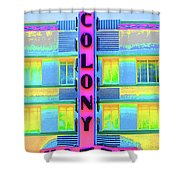 Colony Hotel Shower Curtain