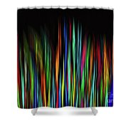 Color Abstract 3.31 Shower Curtain