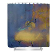 Color Abstraction Lxviii Shower Curtain