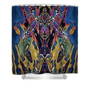 Color Abstraction Xxi Shower Curtain