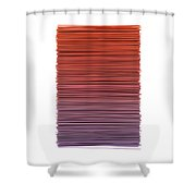 Color And Lines 3 Shower Curtain
