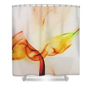 Color And Smoke I Shower Curtain