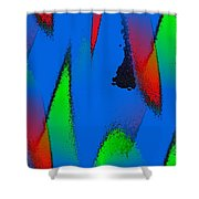Color Collaboration Shower Curtain