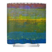 Color Collage Five Shower Curtain