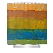 Color Collage Three Shower Curtain