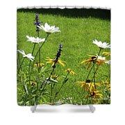 Color Combination Flowers Cc64 Shower Curtain