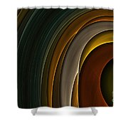 Color Curves Shower Curtain