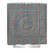 Color Design Shower Curtain