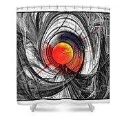 Color Expansion Shower Curtain