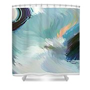 Color Falls Shower Curtain