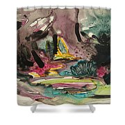 Color Fever 136 Shower Curtain