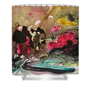 Color Fever 140 Shower Curtain