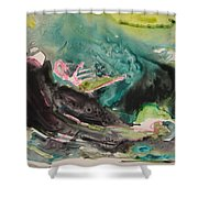 Color Fever Series009 Shower Curtain