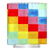Color Flag Shower Curtain
