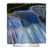 Color Flow Shower Curtain