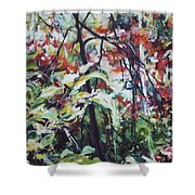 Color Gone Wild Shower Curtain