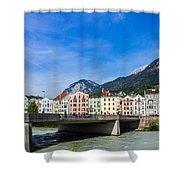 Color In Innsbruck Shower Curtain