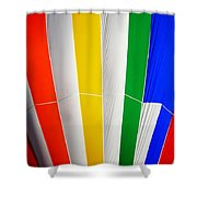 Color In The Air Shower Curtain