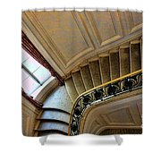 Color Interior Stairs  Shower Curtain