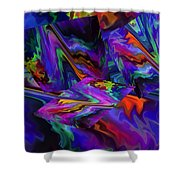Color Journey Shower Curtain