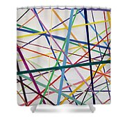 Color Lines Variety Shower Curtain