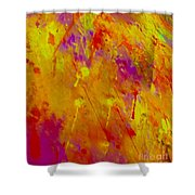 Color Love 2 Shower Curtain