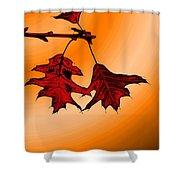 Color Me Autumn 3 Shower Curtain