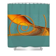 Color Me Bright Shower Curtain