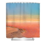 Color Me Grand Shower Curtain