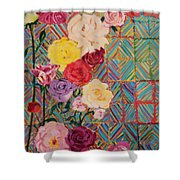 Color Me Roses Shower Curtain