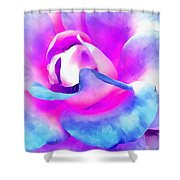 Color Of Charisma Shower Curtain