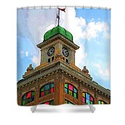 Color Of City Hall Shower Curtain
