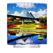 Color Of Imagination Shower Curtain