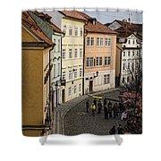 Color Of Prague Shower Curtain