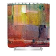 Color Patches Shower Curtain